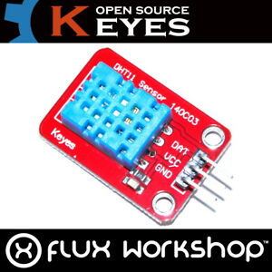 3pcs Keyes Dht11 Temperature And Humidity Sensor Md 025 Arduino Flux Workshop