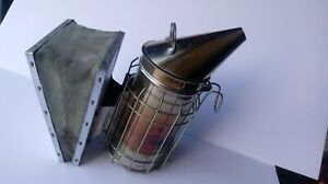 Honey Keeper Bee Hive Smoker With Heat Shield Beekeeping Equipment Stainless St