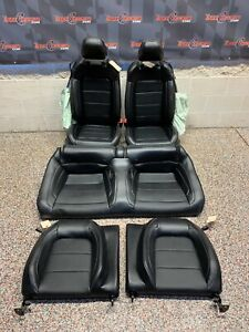 2020 Ford Mustang Gt Oem Coupe Front Rear Leather Seats 1 8k Miles Blown Bags