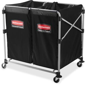 Rubbermaid Commercial Collapsible X cart Utility Cart 1881781 1881781 1 Each