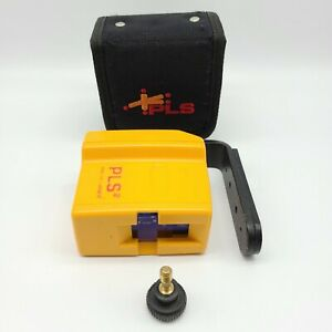 Pls2 Palm Laser Level With Case Pouch Holster Magnetic Mount Working Condition