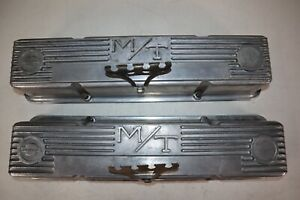 Pair Of Vintage Mickey Thompson Valve Covers For 1960 1982 Corvettes