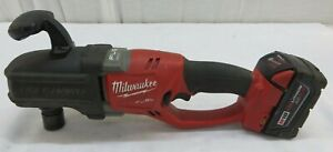 Milwaukee 18v 2708 20 Brushless Hole Hawg Right Angle Drill W Quik Lok 7 16