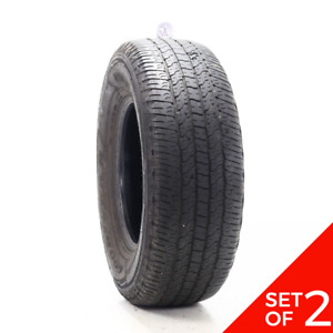 Set Of 2 Used 265 70r16 Goodyear Wrangler Fortitude Ht 112t 6 7 32