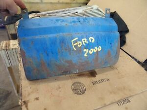 Ford Tractor 801 841 861 Hood Front Lower Wrap Around Panel