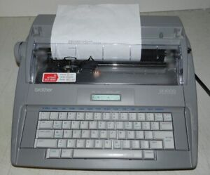 Brother Sx 4000 Portable Electric Typewriter Clean And Tested Vt4700