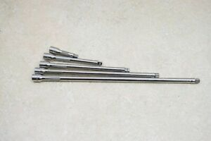 Snap On 5 Pc 1 4 Drive Knurled Extension Set 2 4 6 8 11 Used