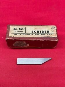 Starrett 454 Scribber For 10 Height Gage In Stock Rare Vintage