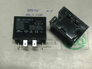 New Jqx 116f 2 012dl 1hst Power Relay 12vdc 30a 4 Pins X 1pc