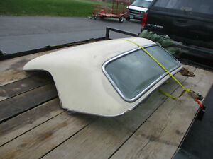 Ford 1955 1956 1957 T Bird Hard Top Non Port Hole White Needs Restoring