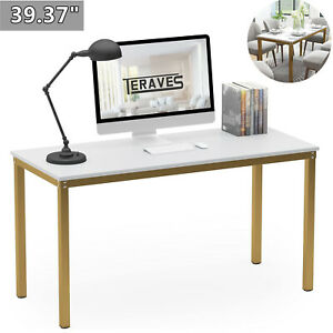 39 37 Computer Desk Home Office Desk Dining Table Pc Laptop Writing Workstation