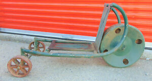 Antique Hit And Miss Gas Engine Cart Antique Cart Designed For Hit miss Motors