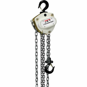 L100 Series Manual Chain Hoist W overload Protection 2 Ton 10 Ft Lift