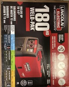 Lincoln Electric 180hd Weld Pak Mig Tig Pro 180 Hd Wire Feed Welder New