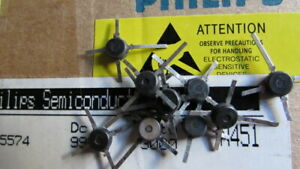 Bfr91 Philips 300mhz 20v N Fet Rf Transistor To 50 No Markings 10 Pieces Nos Usa