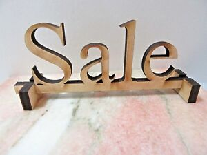 Case Store Display Shelf Sign Wood Carved With Stand Sale
