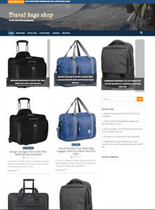 Travel Bags Amazon Affiliate Website Turnkey Fully Automated