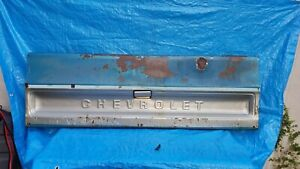 Straight 73 80 Chevrolet Chevy Pick Up Truck C 10 20 30 Tailgate Tail Gate Oem