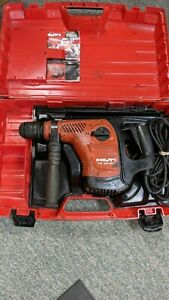 Hilti Te 40 avr Rotary Electric Hammer Drill Sds Plus With Case