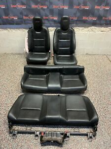 2010 Chevrolet Camaro Ss Oem Coupe Black Leather Front Rear Seats Blown Bag