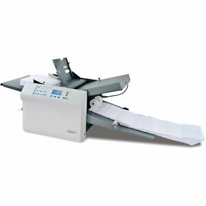 Formax Fd38x Automatic Paper Folding Machine With Autostack 153 Stacker Wheels