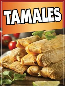 Tamales Decal Window Sticker Mexican Food Truck Concession Vinyl Restaurant