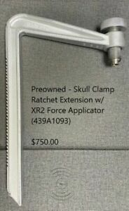 Skull Clamp Ratchet Extension W Xr2 Force Applicator 439a1093