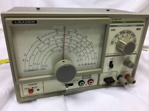 Leader Lsg 17 Signal Generator 100khz To 150mhz up To 450mhz On Harmonics