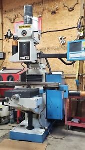 Supermax Ycm 40 With Centroid 400 3 Axis Controller excellent Low Hours