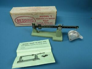 Redding Model #1 Powder amp; Bullet Reloading Scale with Box amp; Instructions $49.99