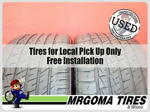Set Of 2 Goodyear Eagle F1 Asymmetric As 2753518 Used Tires 64 Rmng 2753518 Fits 27535r18