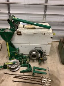 Greenlee Wire Cable Puller 4000 640 642 Wire Tugger Chugger Ed4u Package 9132a