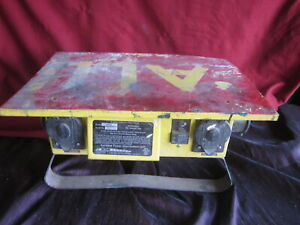 Cep 6506g Portable Power Distribution Spider Box 13 outlet 50a 125 250v Worn