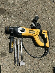 Dewalt Corded D25223 Hammer Drill With 3 Bits