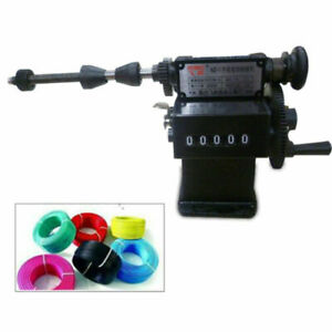 Dual Purpose Manual Coil Winder Machine Counter Hand Coil Winding Tool Wire Tool