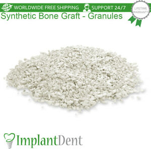 Dental Synthetic Graft Filling Material Particles Sterile Blister tricalcium