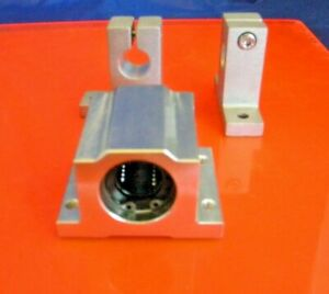 Twa 08 Precision Linear Bearing Block 1 2 Inch Includes 2 Shaft Supports
