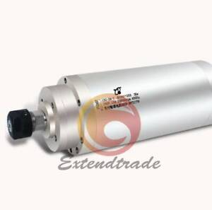 New 3kw 380v 100x250 Cnc Water Cooling Engraving Machine Spindle Motor