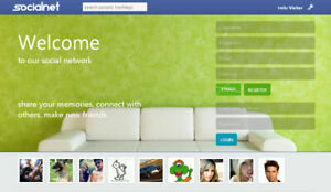 Social Network Website Free Hosting And Installation