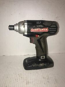 Craftsman C3 192v Cordless 14 Hex Impact Driver Works Great