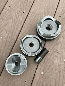 Greenlee 2 1 2 3 And 3 1 2 Inch Knockout Punch And Die Set