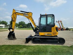 2016 Jcb 85z 1 Excavator Tag Quick Coupler Financing Shipping Deere