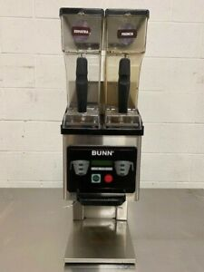 2018 Bunn Mhg Dual Hopper Commercial Coffee Grinder Works Great Nice Unit