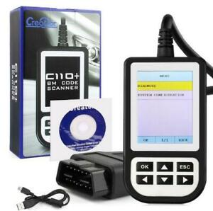 Creator C110 Scanner Engine Diagnostic Airbag Abs Fault Code Scan Tool For Bmw