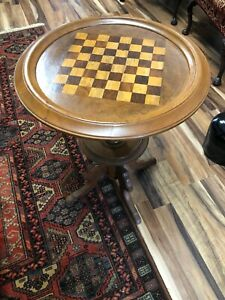 Antique Walnut Game Table