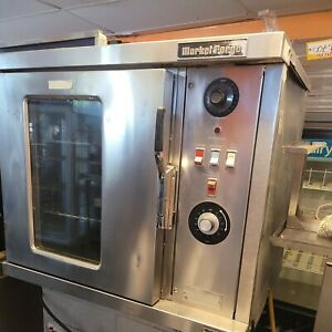 Market Forge 4200 Electric Convection Oven Single Deck W Glass Window Front