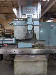 Bostomatic 1000 5 Axis Milling Machine With A Axis And C Axis