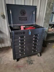 Matco Tools 35 6 Drawer Rolling Tool Box Silver Vein