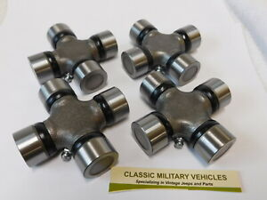 Willys Cj2a Spicer Style U Joint Lot Of 4 Mb M38 M38a1 Cj5 Universal Joint
