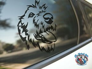 Irish Wolfhound Sticker Dog Car Decal Wolfhounds Dogs Puppy Breed Silhouette